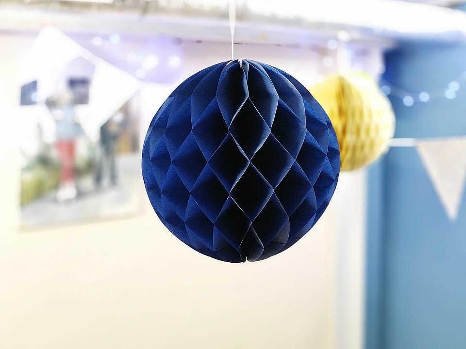 Цвет: синий Диаметр: 30 см