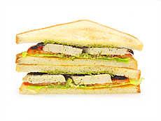 Сэндвич с тофу и песто 🌱